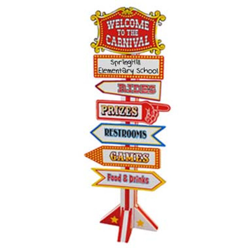 Carnival Sign Decoration