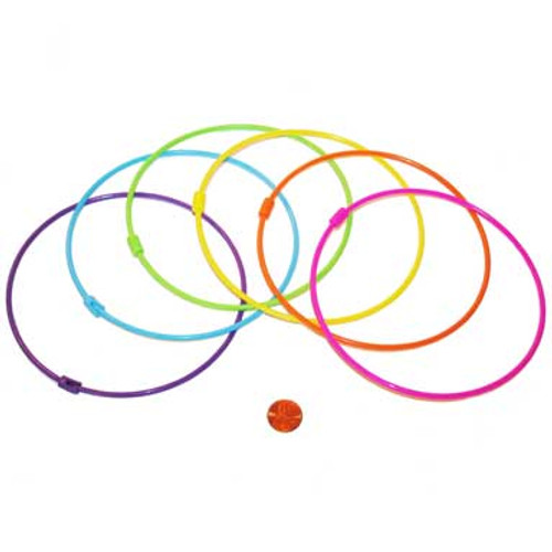 Large Plastic Rings for Carnival Games
