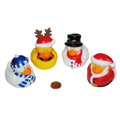 Holiday Themed Rubber Duckies