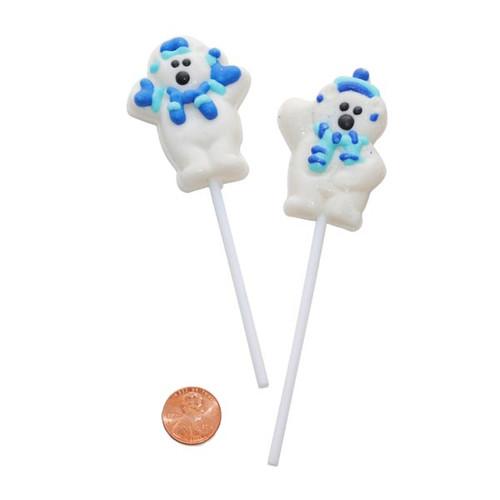 Polar Bear Lollipops