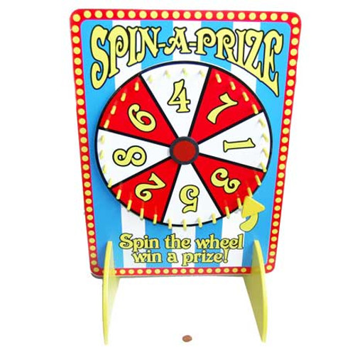 Carnival Tabletop Spinner for Carnival Games