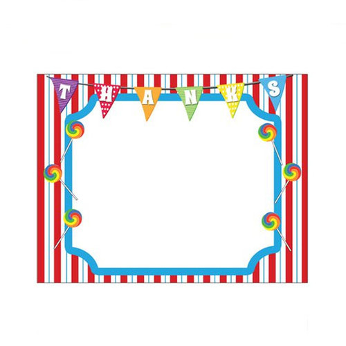Carnival Party Themed Thank You Notes