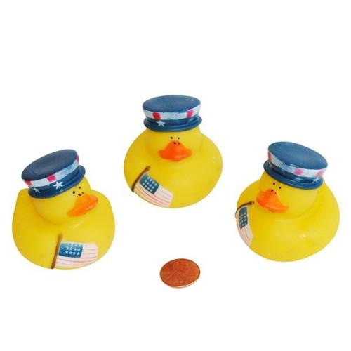 Vinyl Patriotic Rubber Duckies