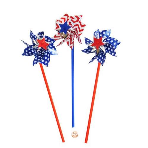 Plastic American Spirit Pinwheels