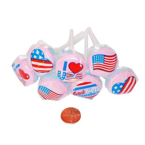 Patriotic Lollipops Wholesale