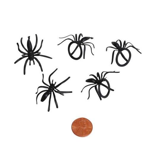 Plastic Spider Rings