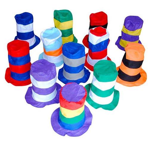 Felt Stovepipe Hat Assortment - wholesale