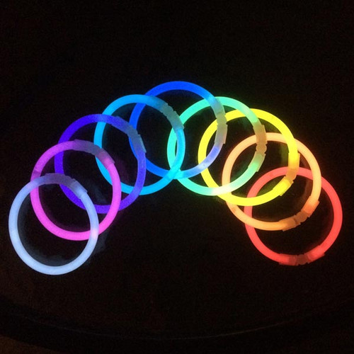Assorted Color Premium Glow in the Dark Bracelets Wholesale