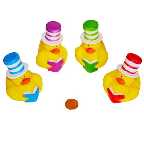 Vinyl Stovepipe Hat Rubber Duckies