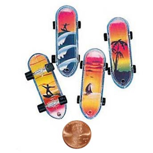 Mini Tropical Skateboards Small Toy