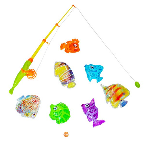 Plastic Magnetic Fishing Set - Carnival Game to Buy