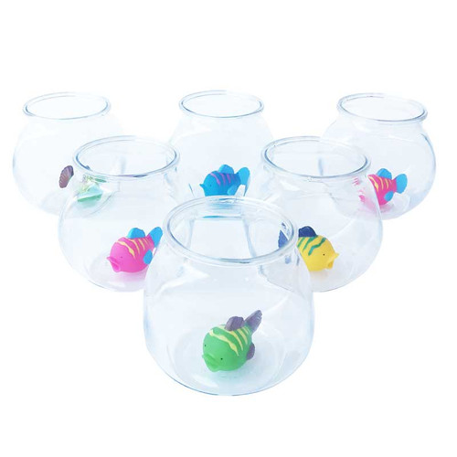 Plastic Fish Bowls for Carnival Fish Bowl Set