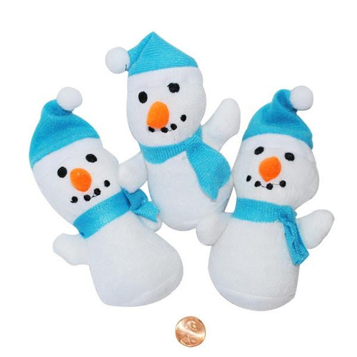 Plush Winter Snowmen