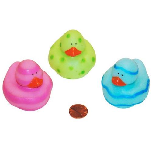 Vinyl Easter Egg Painted Rubber Duckies