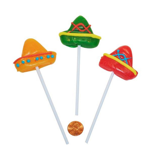 Assorted Sombrero Suckers