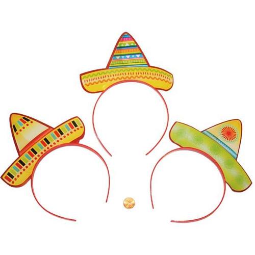 Cardboard Sombrero Headbands