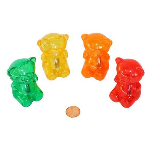 Plastic Gummy Bear Pencil Sharpeners