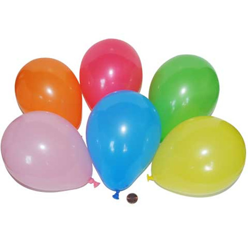 Dart Balloons 5 Inch (288 total Balloons in 2 bags) 4¢ each