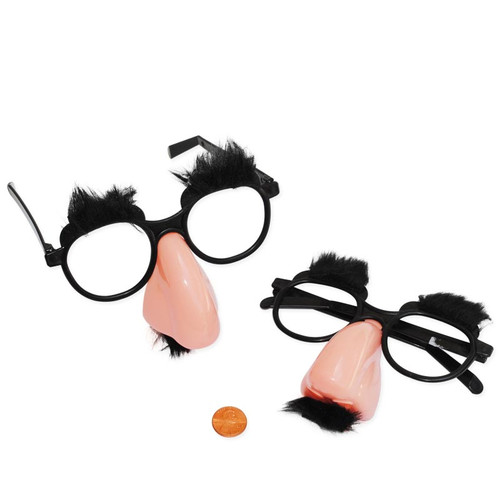 Adult Funny Nose, Eyebrows & Mustache Glasses
