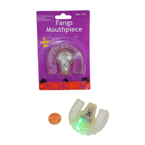 Fangs Flashing Mouth Piece - Halloween Costume