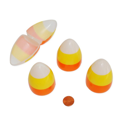 Candy Corn Shaped Treat Containers