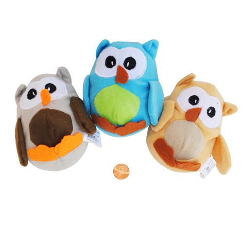 Mini Stuffed Toy Owls  Wholesale