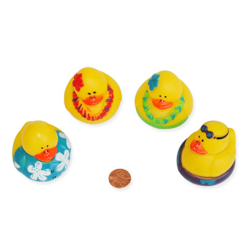 Luau Rubber Ducks