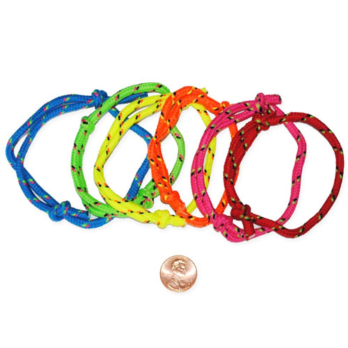 Colorful Friendship Rope Bracelets