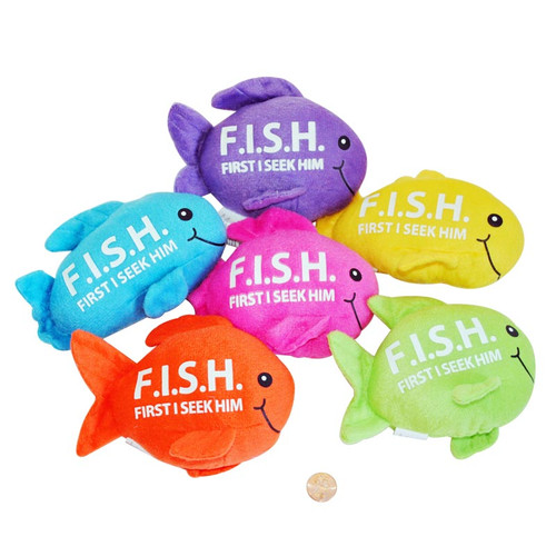Christian Stuffed Toy Fish
