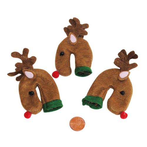 Reindeer Candy Cane Holders