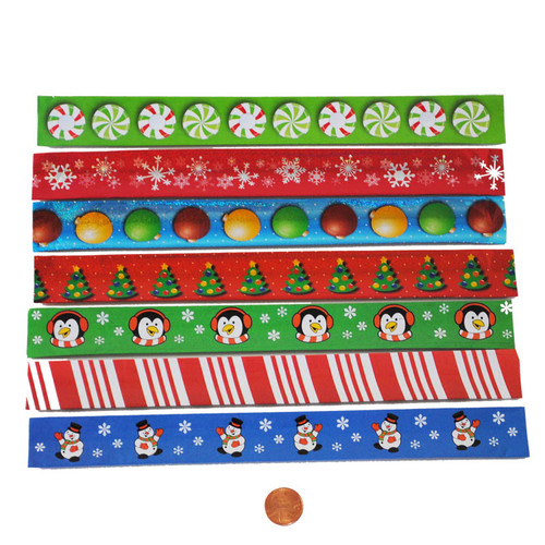 Holiday Slap Bracelets Wholesale