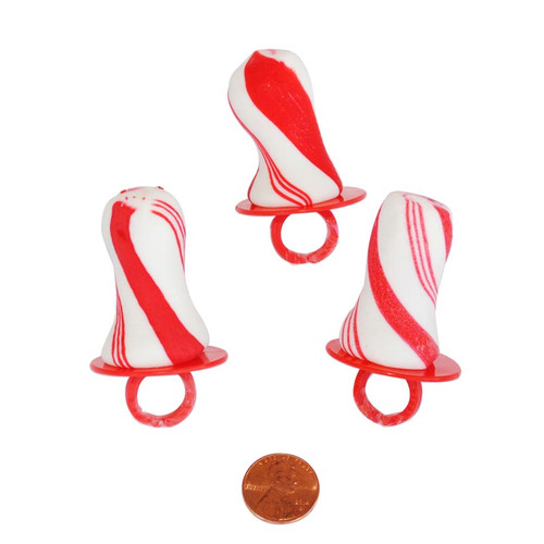 Candy Cane Ring Pops