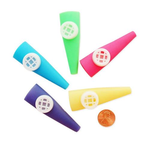 Plastic Toy Kazoos