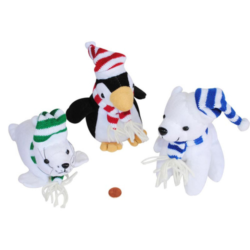 Arctic Stuffed Animals - Plush Winter Animals Wholesale