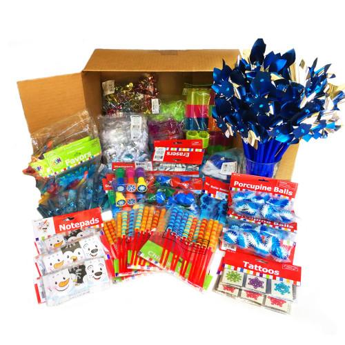 Bulk Small Toys & Prizes Winter Themed