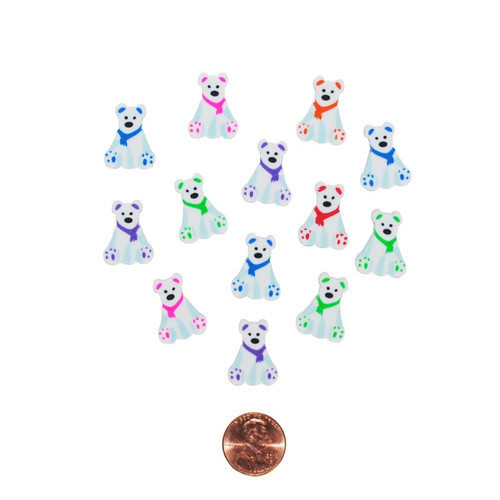 Mini Polar Bear Erasers Wholesale