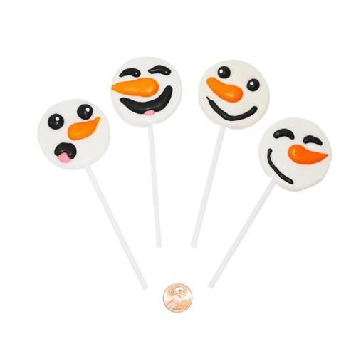 Snowman Face Suckers Wholesale