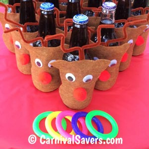 Reindeer Ring Toss Christmas Game