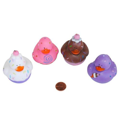 Sweet Treats Rubber Ducks