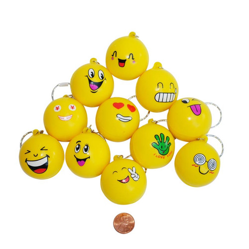 Emoji Foam Key Chains