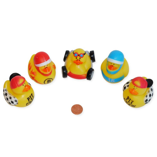Race Car Rubber Ducks