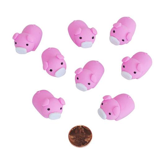 Mini Pig Erasers