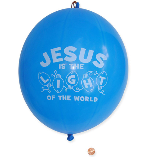 Jesus is the Light Punch Balls - Toys for Kids