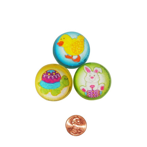 Easter Themed Bouncing Balls