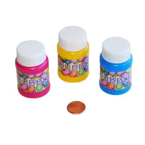 Plastic Jelly Bean Bubble Bottles