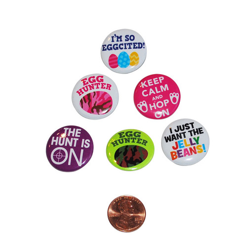 Mini Easter Metal Buttons
