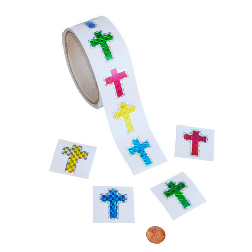 Prism Cross Sticker Roll