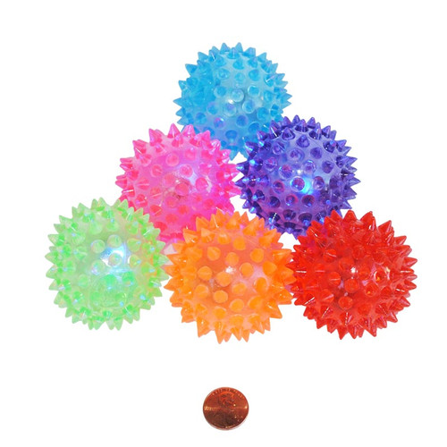 Flashing Spiky Balls