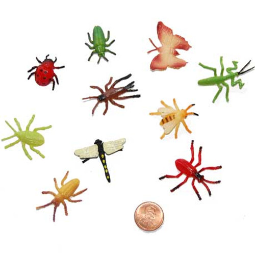 Small Plastic Bug Toys
