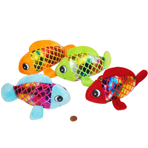 Stuffed Rainbow Fish